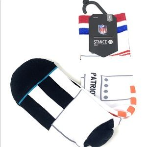 Stance NFL New England Patriots Athletic Crew